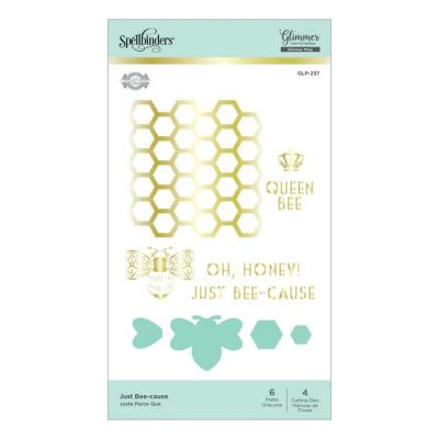 Spellbinders Hot Foil Plates - Just Bee-Cause